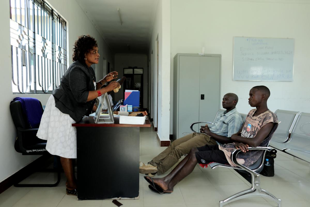 VMMC clinic at Sekou Toure Regional Hospital