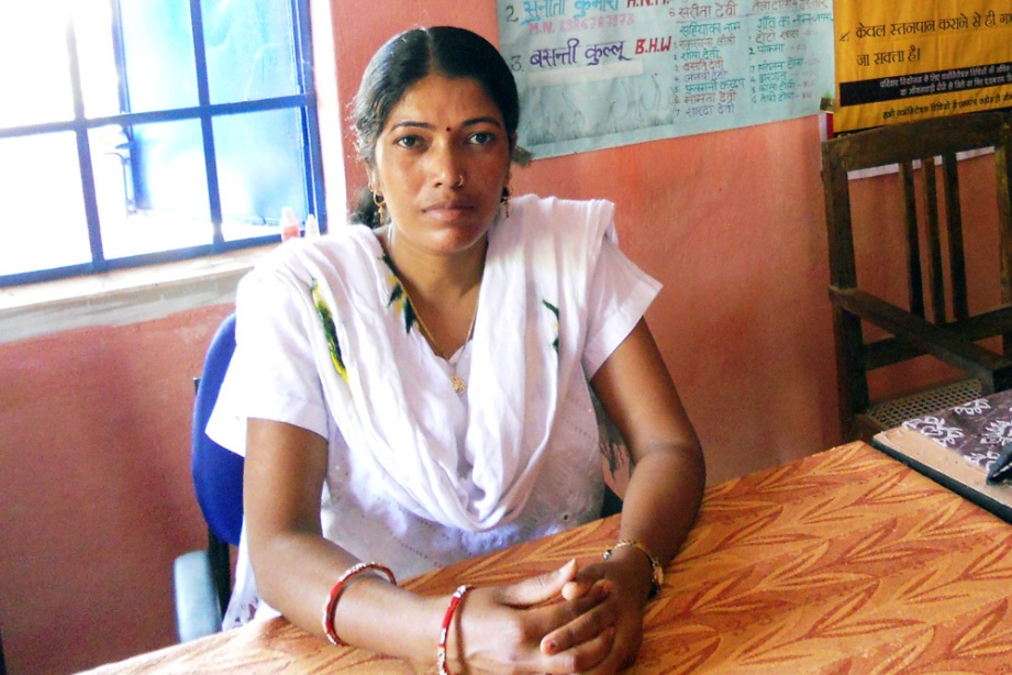 Photo of Sunita Kumari by Geeta Sharma, courtesy of IntraHealth International.