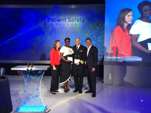 The second annual REAL Awards honorees were announced Sunday, Jan. 12, 2014, at the Patient Safety, Science & Technology Summit in Laguna Niguel, Calif., hosted by the Masimo Foundation for Ethics, Innovation and Competition in Healthcare. Courtesy Save the Children.