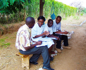 Kenyan health workers share frustrations and challenges of working at understaffed health centers. Photo courtesy Family Care International.