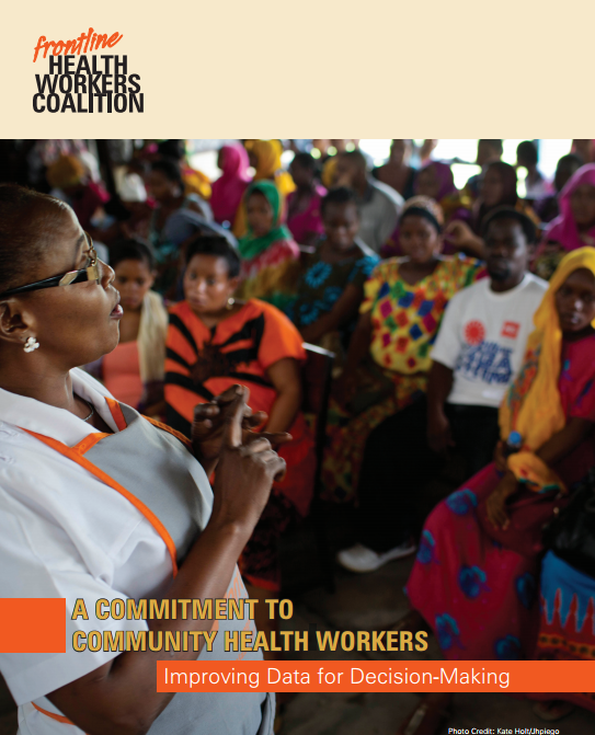 A Commitment to Community Health Workers: Improving Data for Decision-Making